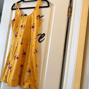 Floral Yellow H&M Dress